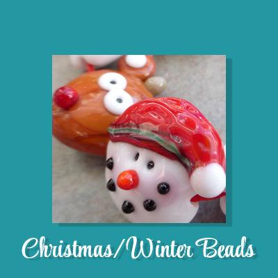Christmas/Winter Beads