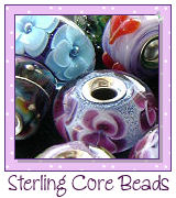 Sterling-lined beads